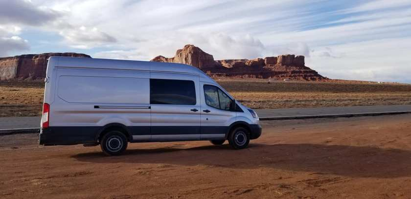 2018 Ford Transit (extended body, high roof)